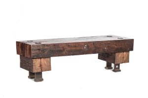 distressed solid wood furniture table
