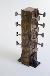 expensive industrial age revisited hardwood wine rack for kitchen or tasting room