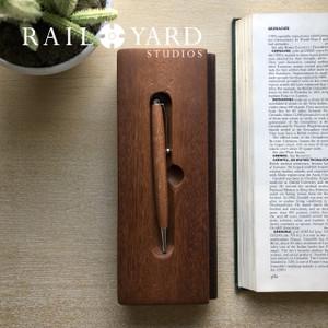 Reclaimed Railcar Flooring Ink Pens