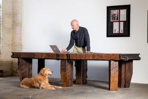 executive boardroom solid oak hardwood conference table