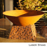 Fire Pit Laser Stand