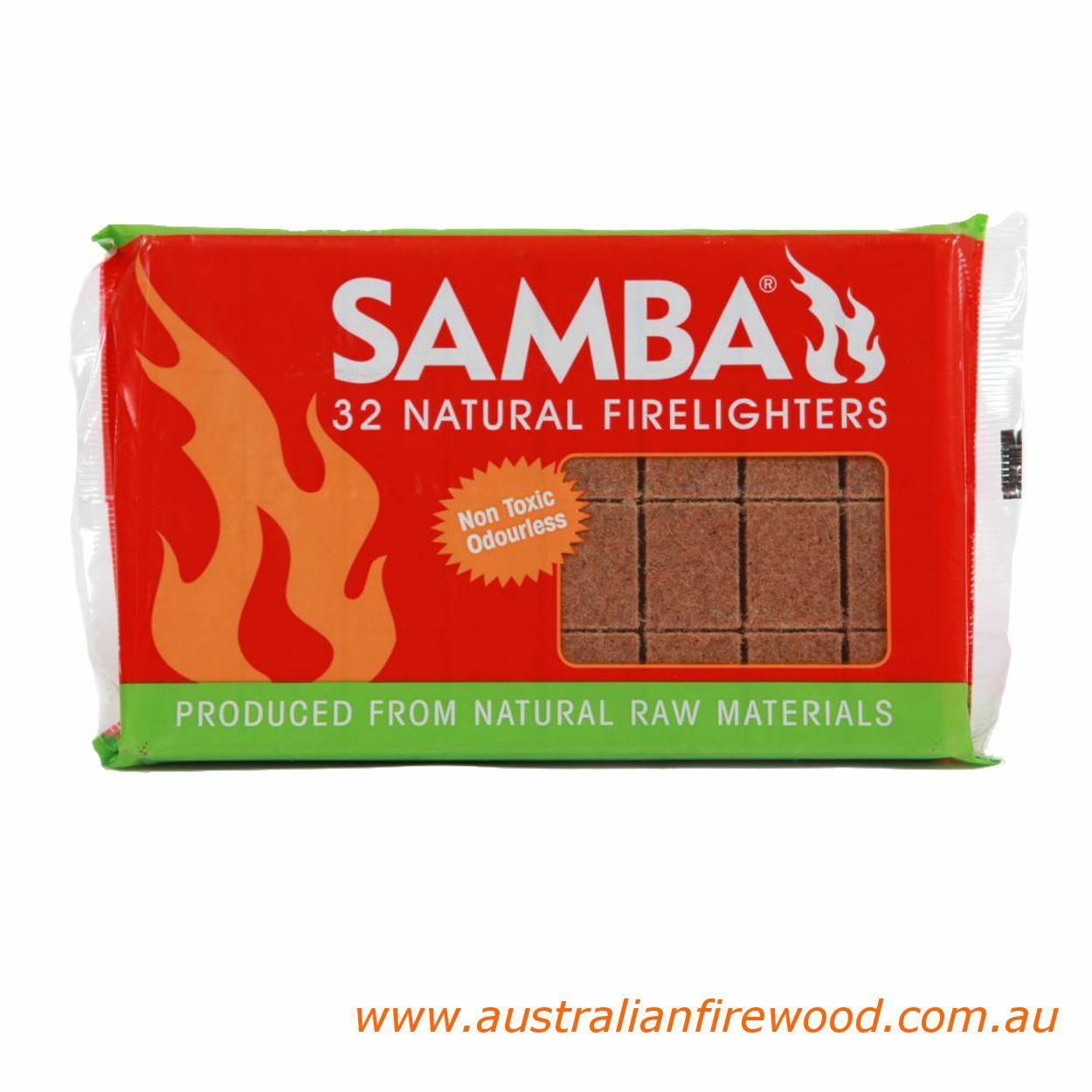 Samba Wooden Firelighter 32 Pa