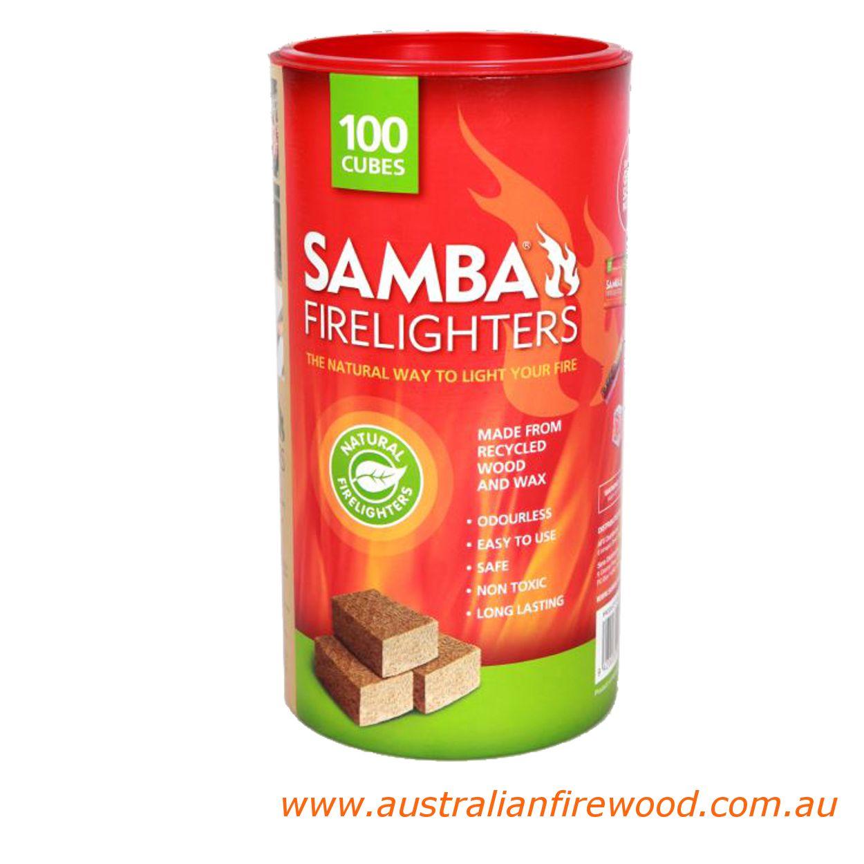 Samba Wooden Firelighter 100 T