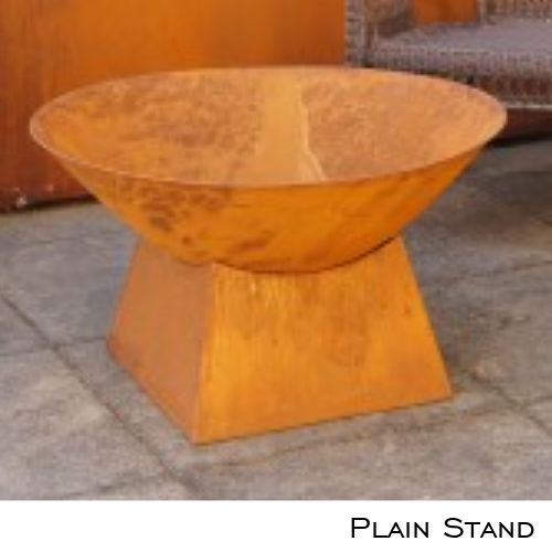 Fire Pit Plain Stand