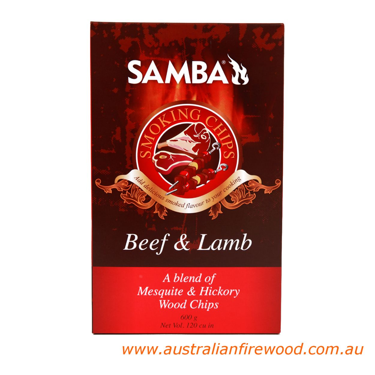 Samba Smoking Chips Beef & Lam