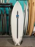 5'11 LOST LIGHTSPEED MR X MB CALI TWIN SURFBOARD (219883)