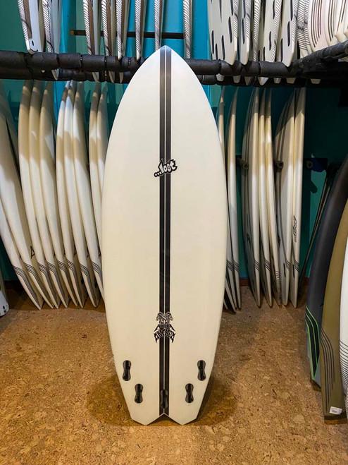 5'8 LOST HYDRA LIGHT SPEED SURFBOARD (224651)