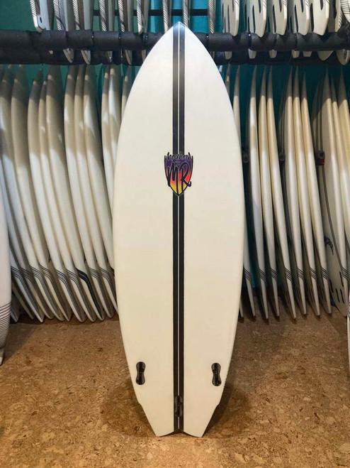 5'7 LOST LIGHTSPEED MR X MB CA TWIN SURFBOARD (219879)