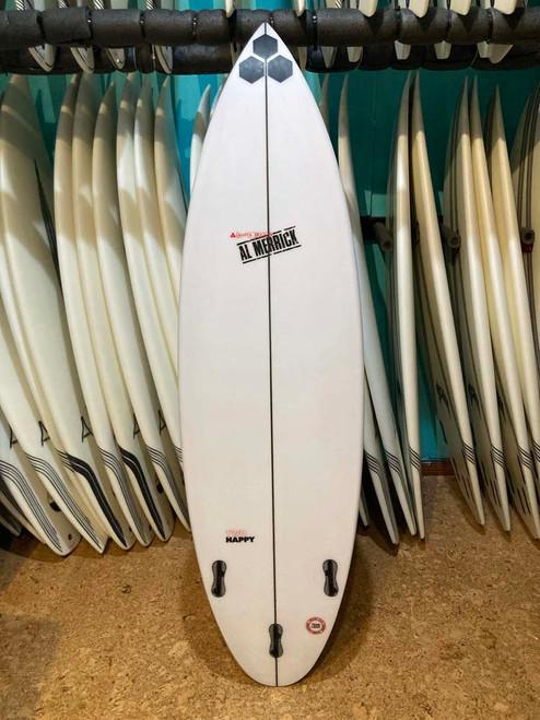 5'10 CHANNEL ISLANDS TWO HAPPY USED SURFBOARD (515069)