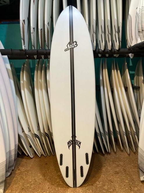 7'6 LOST LIGHTSPEED CROWD KILLER ROUND SURFBOARD (229365)
