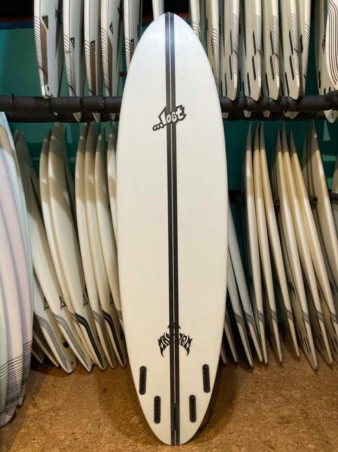 7'2 LOST LIGHTSPEED CROWD KILLER ROUND SURFBOARD (229363)