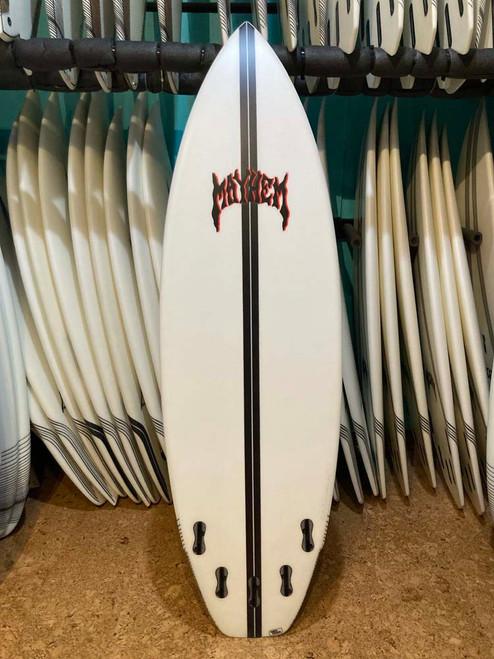 6'1 LOST RAD RIPPER LIGHTSPEED SURFBOARD (111210)