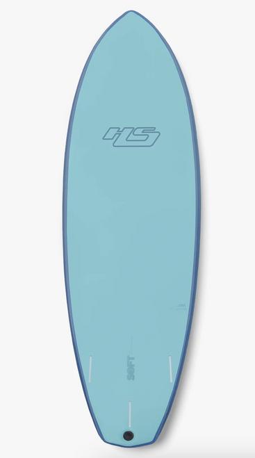 6'6 HAYDENSHAPES LOOT FOAMY SURFBOARD (HSFO-LO0606-BL1)