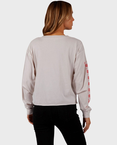 RIP CURL GOOD TIME LONG SLEEVE TEE (GTERY8)