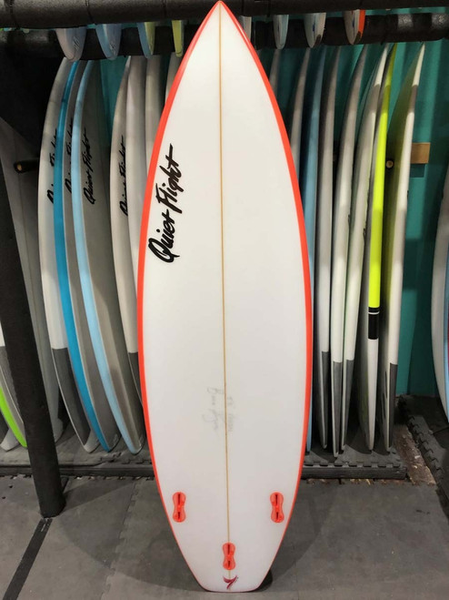 5'8 QUIET FLIGHT VANDAL SURFBOARD (59211)