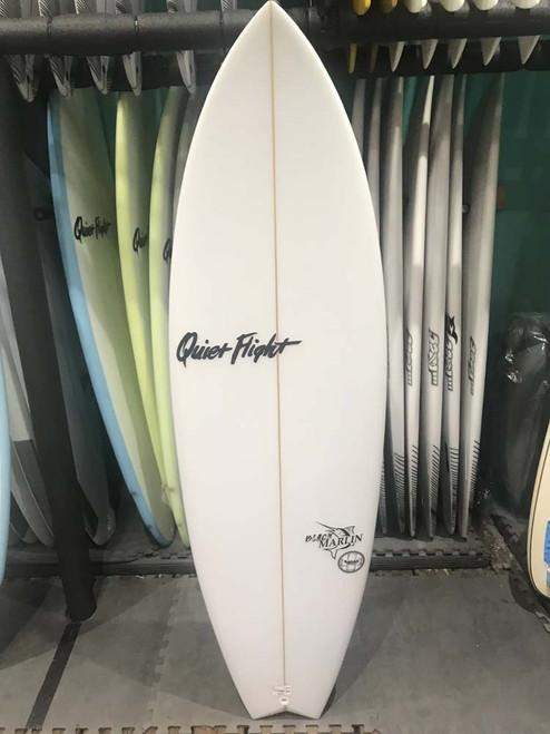 5'7 QUIET FLIGHT BLACK MARLIN SURFBOARD (59676)