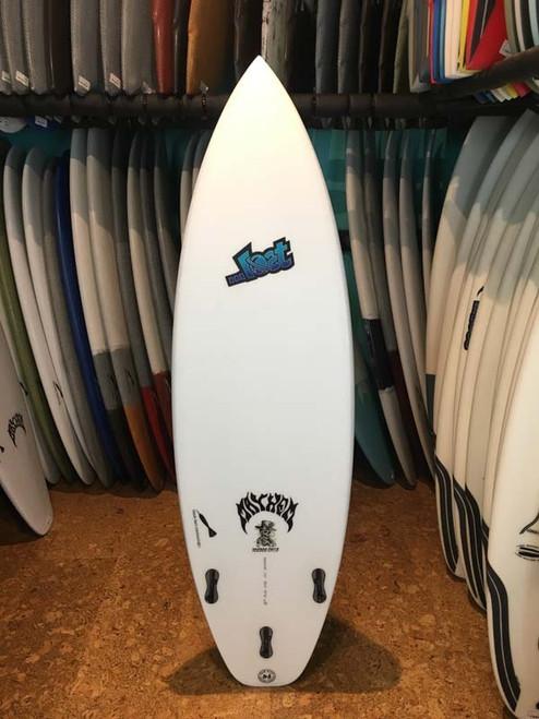 5'10 ...LOST VOODOO CHILD BLACK DART SURFBOARD (167455)
