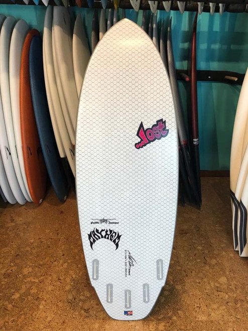 5'1 ...LOST PUDDLE JUMPER LIB TECH SURFBOARD (24689)