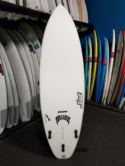 5'11 ...LOST UBER DRIVER BLACK DART SURFBOARD (180324)