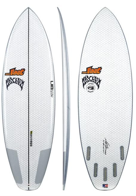 6'2 LIB TECH SHORT ROUND SURFBOARD (24509)