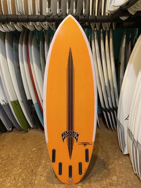 5'5 LOST BLACK DART PUDDLE JUMPER HP SURFBOARD (188794)