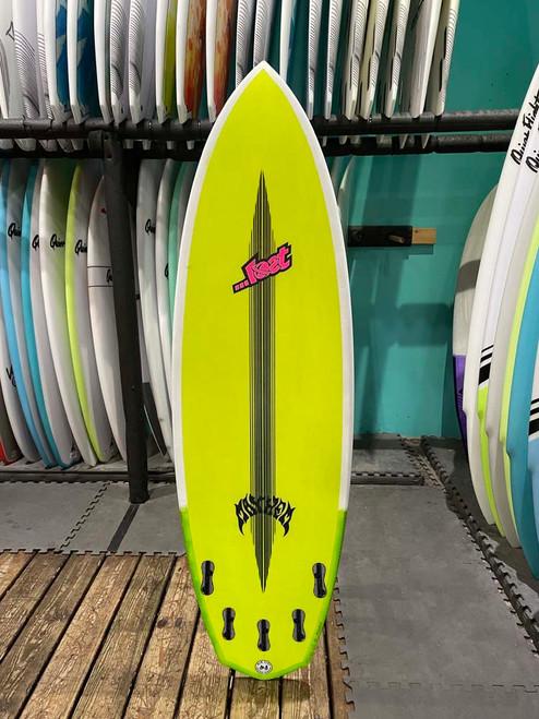 5'10 LOST ROCKET REDUX BLACKDART SURFBOARD (188828)