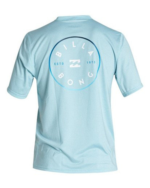 BILLABONG ROTOR LF SHORT SLEEVE RASHGUARD (MR011BRO)