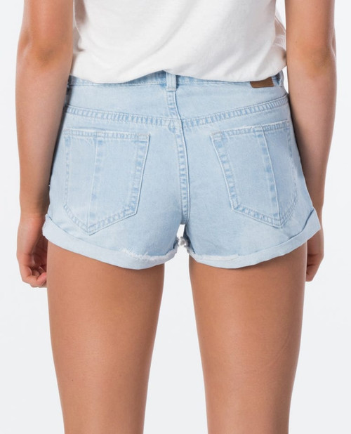 RIPCURL AMY DENIM SHORT II (GWAEW1)