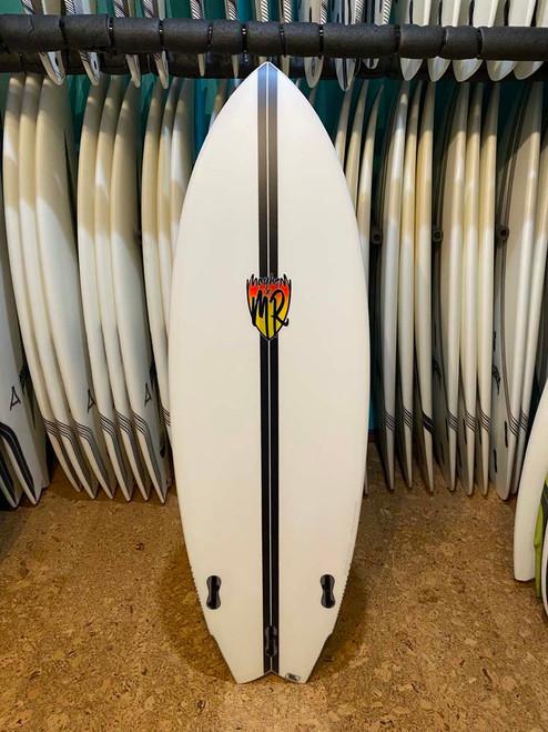 5'6 MR X MB CA TWIN LIGHTSPEED SURFBOARD  (110510)