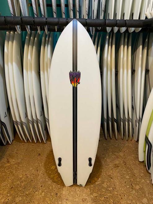 5'9 MR X MB CA TWIN LIGHTSPEED SURFBOARD (110491)