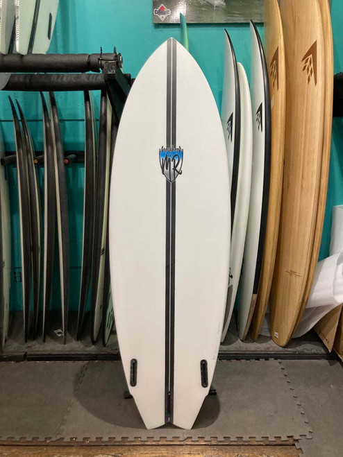 6'2 LOST LIGHTSPEED MR X MB CALI TWIN SURFBOARD (219885)