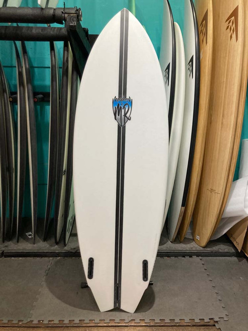 5'11 LOST LIGHTSPEED MR X MB CALI TWIN SURFBOARD (219883)