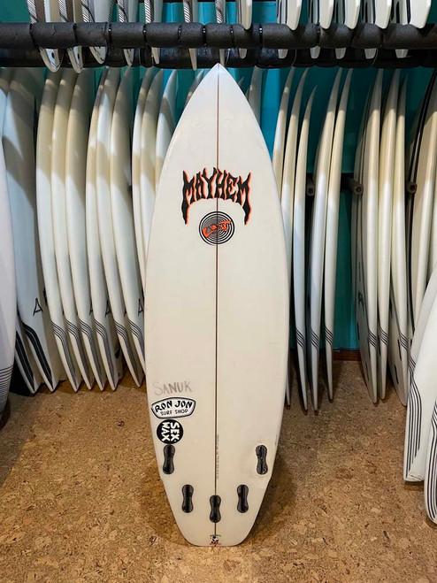 5'4 LOST RAD RIPPER USED SURFBOARD (189951U)