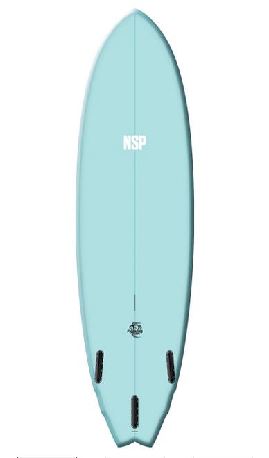 6'6 NSP FIGHTING FISH SURFBOARD (0007)