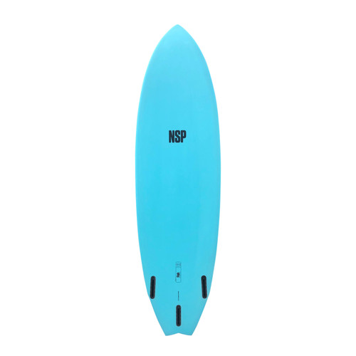 6'8 PROTECH FISH SURFBOARD (10043)