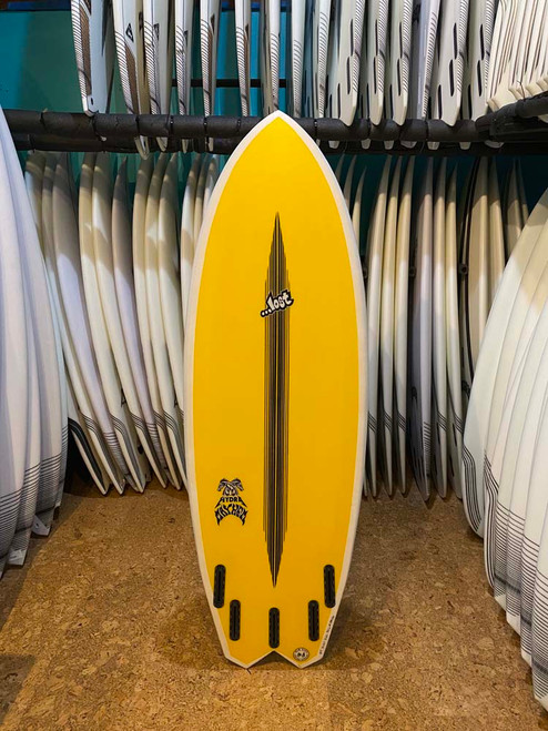 5'7 LOST BLACKDART HYDRA SURFBOARD  (189456)