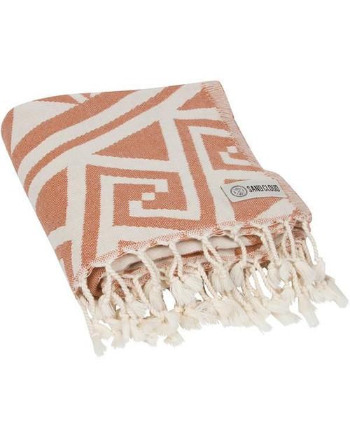 SAND CLOUD RUST MANDALA TOWEL (WSFTOW014RSTRG)