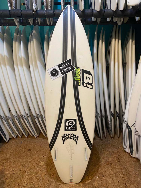 5'11 LOST SUB DRIVER 2.0 CARBON WRAP USED SURFBOARD (172404)