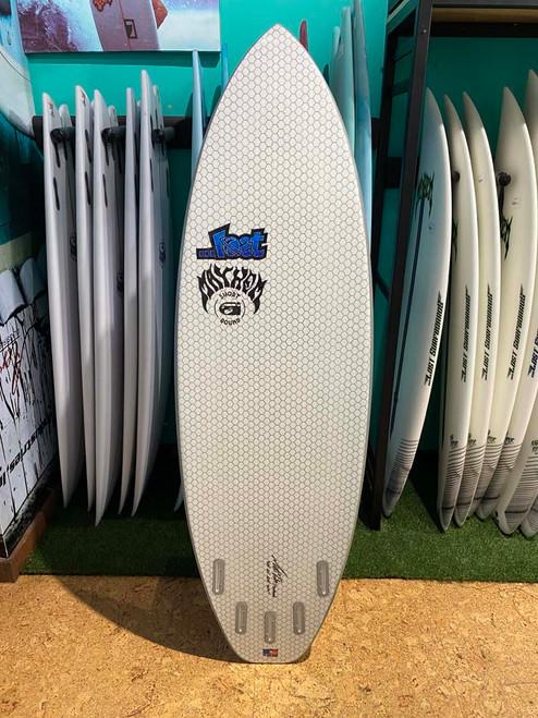 5'10 LOST LIB TECH SHORT ROUND SURFBOARD (33280)