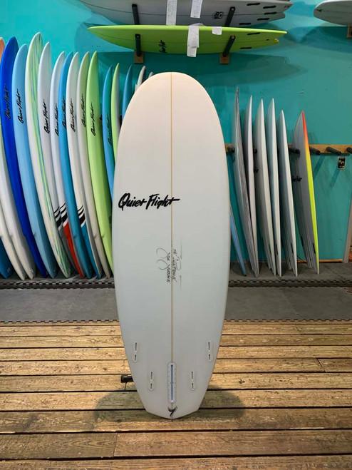 5'8 QUIET FLIGHT PONTOON SURFBOARD (60784)