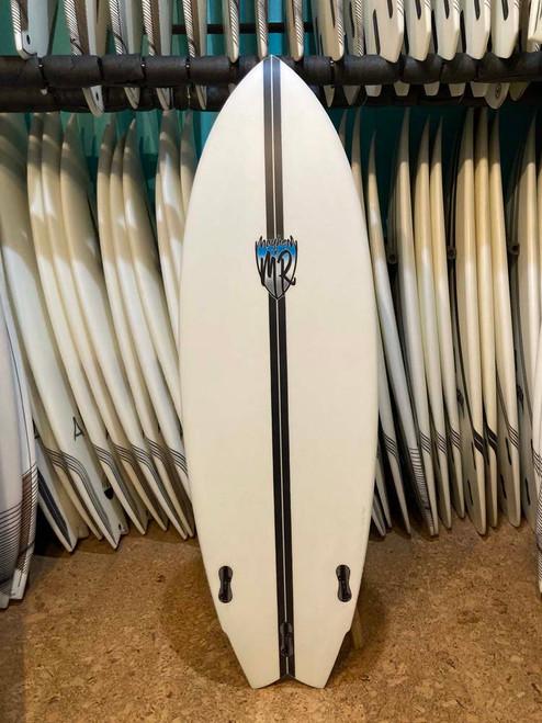 5'8 LOST LIGHTSPEED MR X MB CA TWIN SURFBOARD (219880)