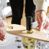 One Hand Server - Wine Glass & Bottle Holder