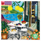 1000 pc puzzle - Cats of Positano