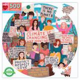 500 pc round puzzle - Climate Action