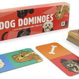 Dog Dominoes is the game that all dog-lovers will want to get their paws on!  Simply match pairs of pooches to become top dog.  It's a classic game with a quirky canine twist!
