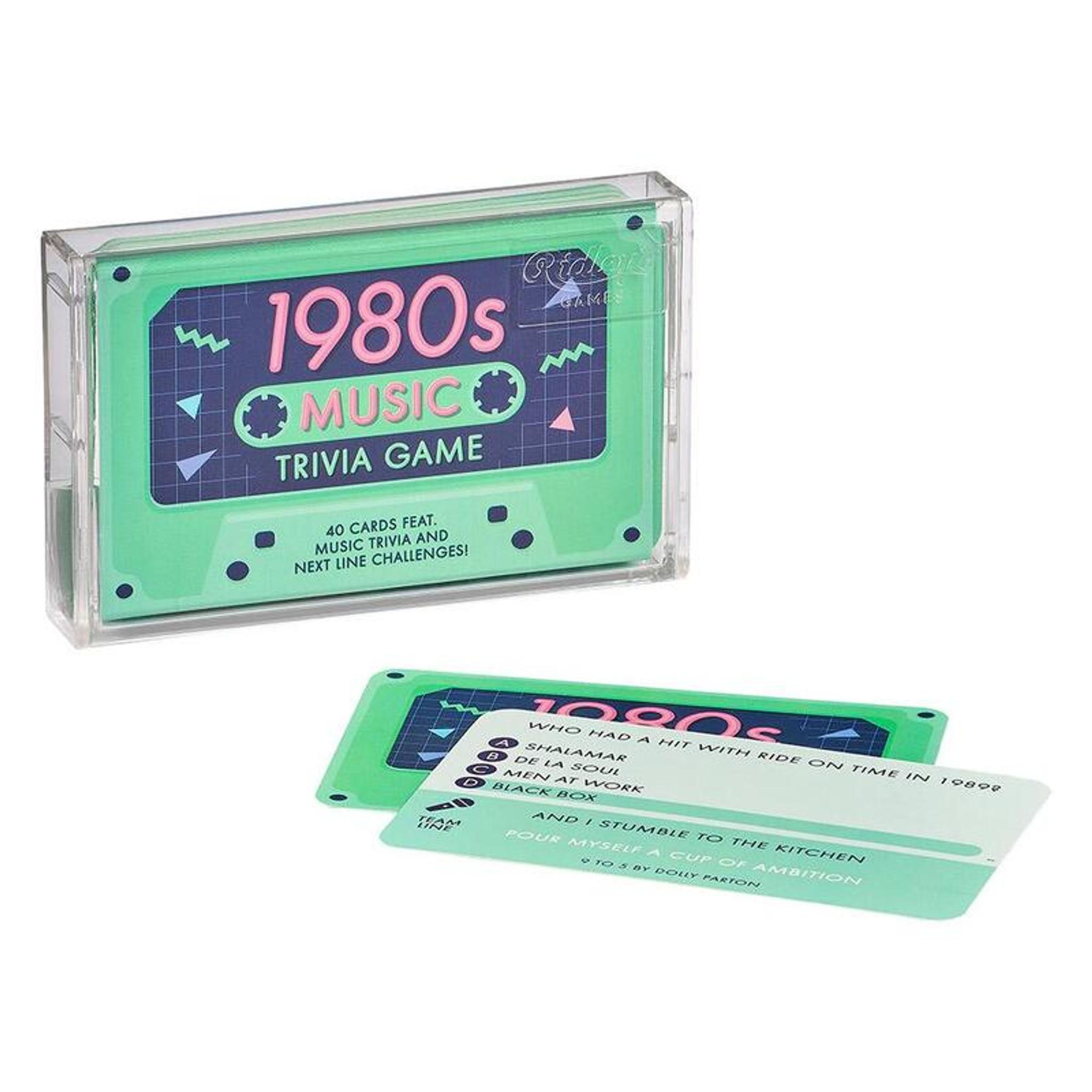 1980's Music Trivia Game