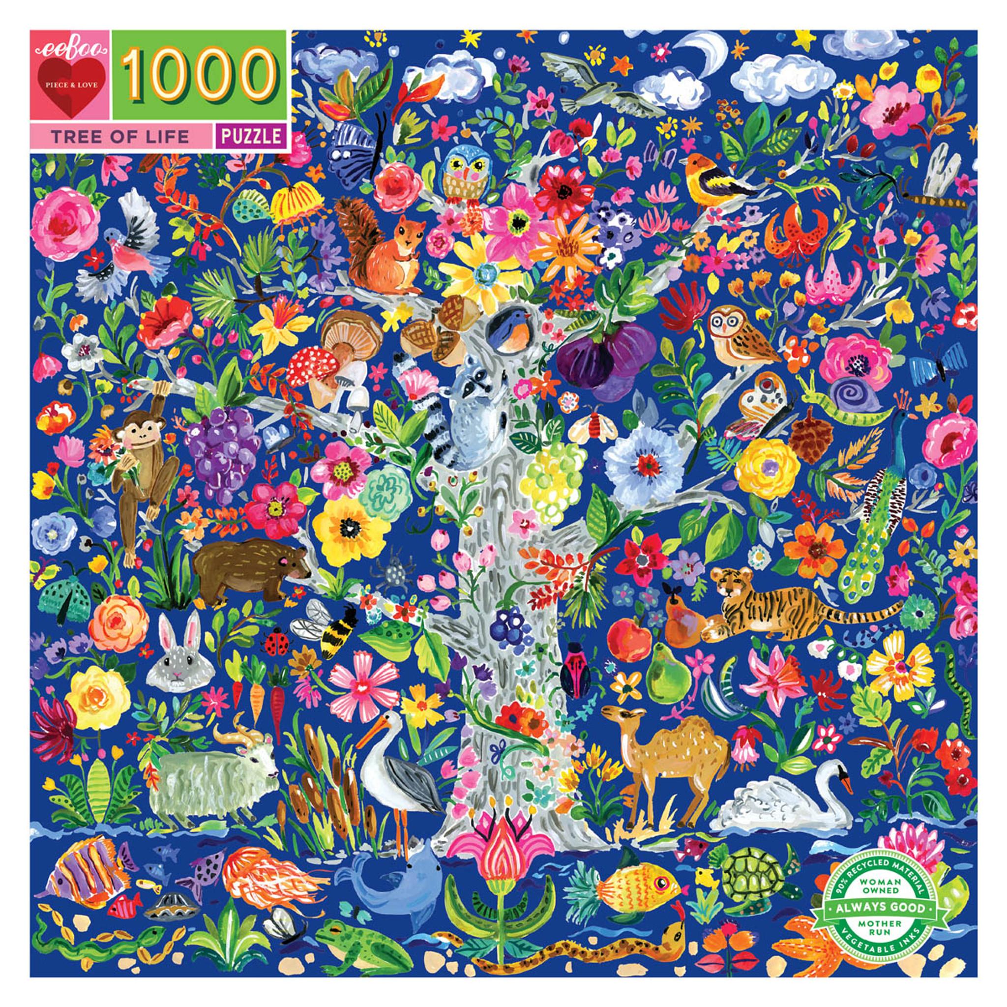 1000 pc puzzle - Tree of Life