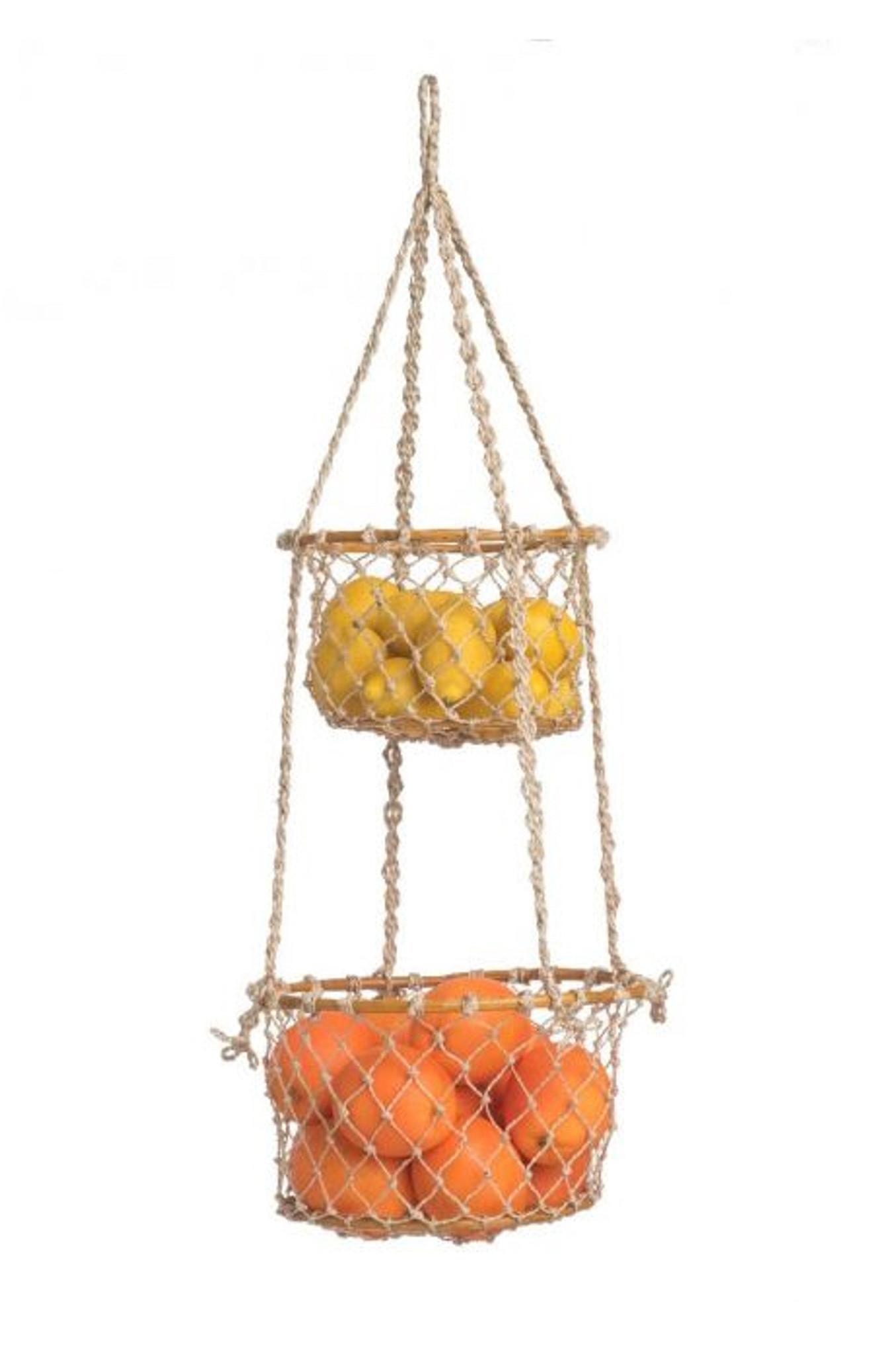 2 Tier Hanging Basket