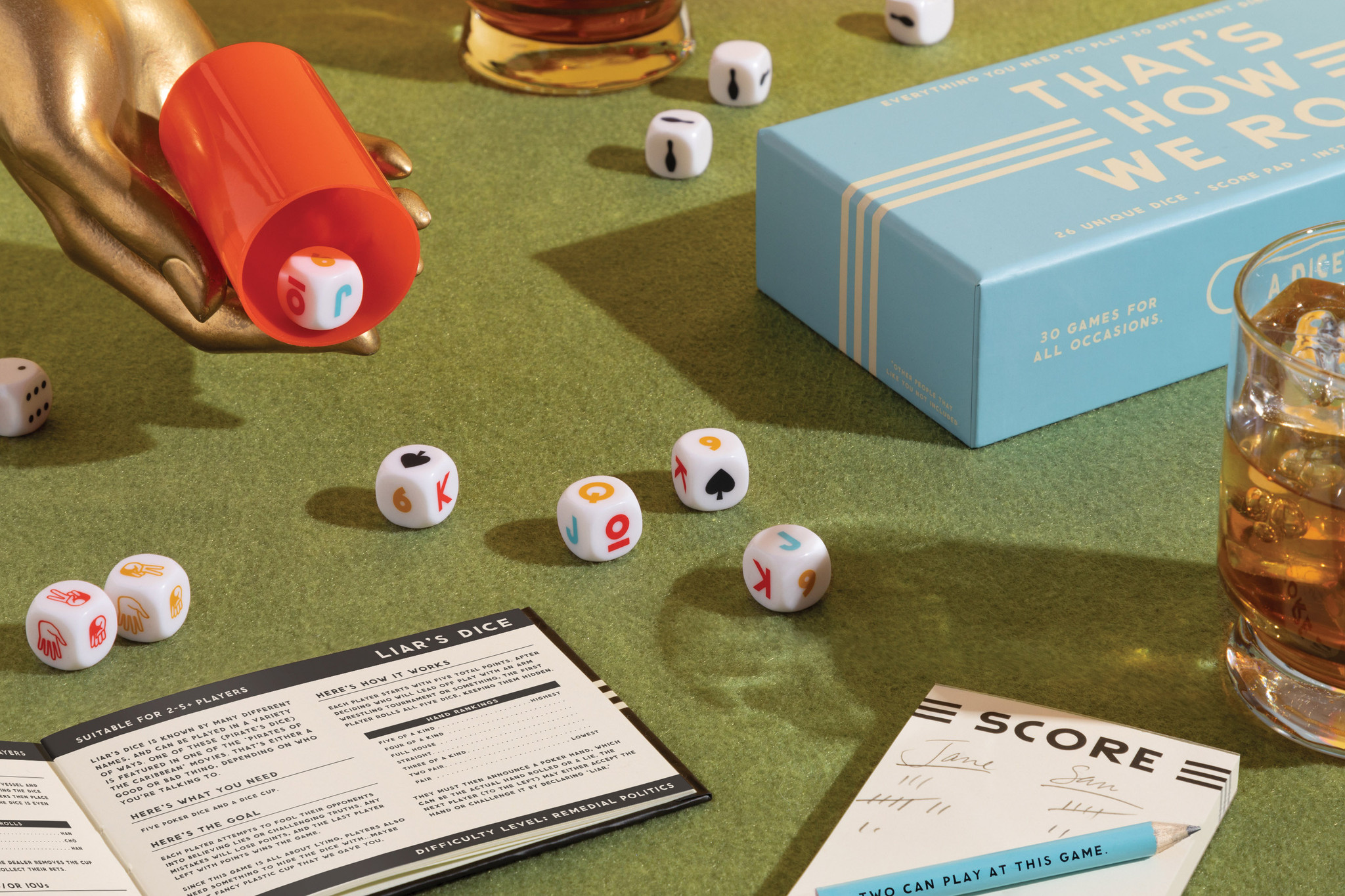 Thats's How We Roll - Dice Game