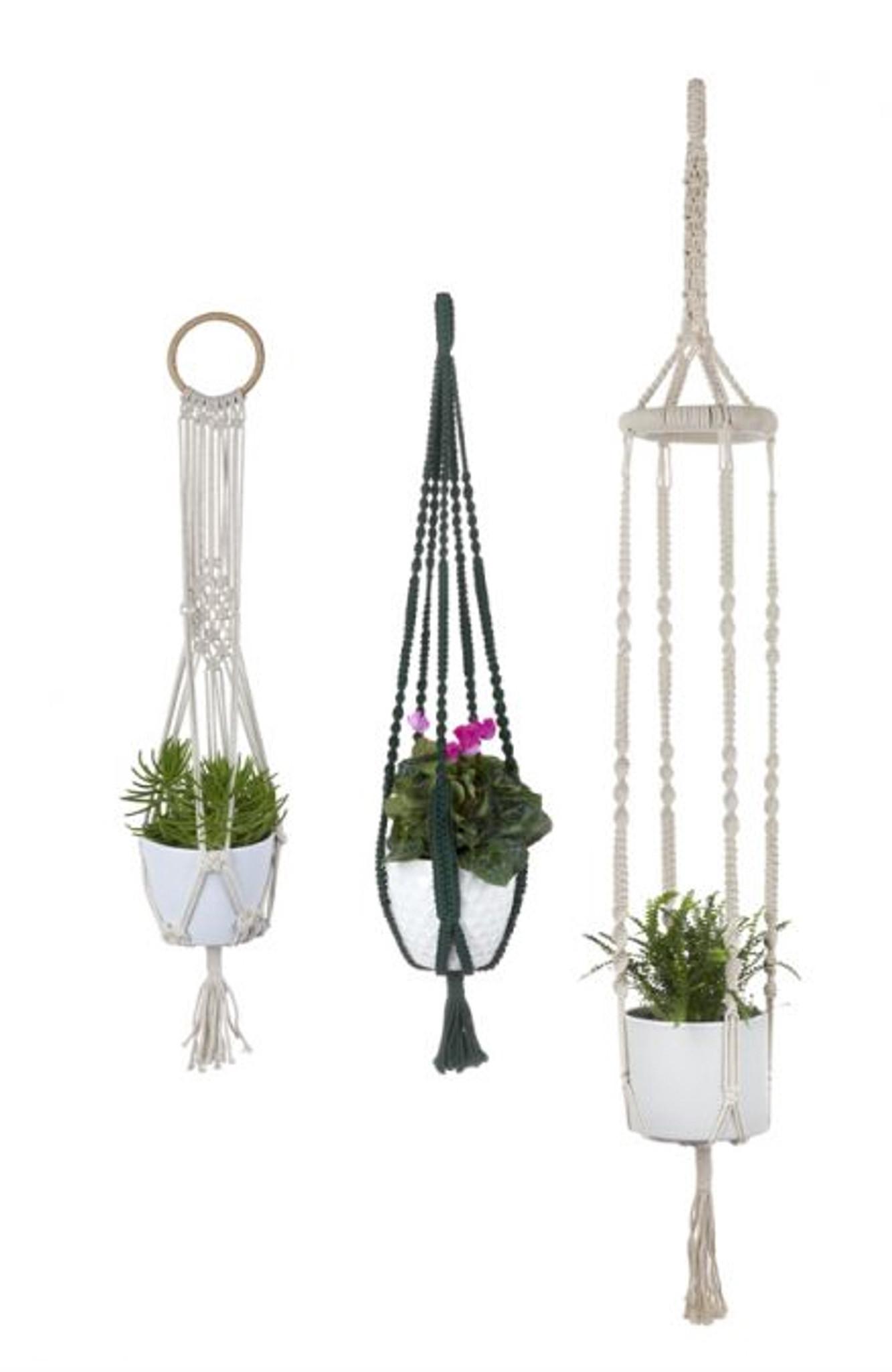 Plant Hanger & Pot Holder - Sage